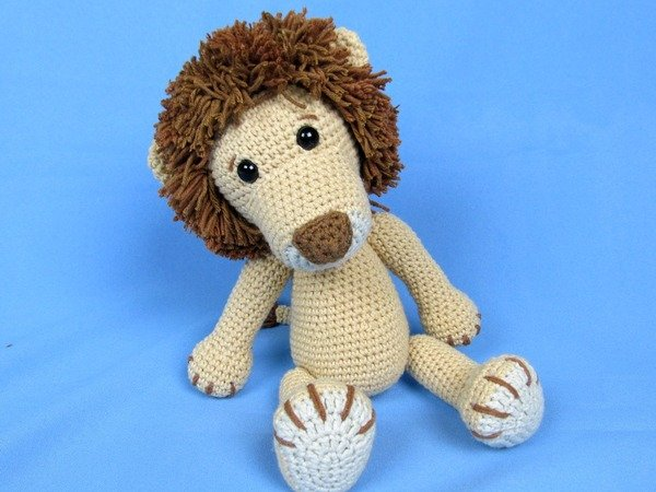 Amigurumi Lion Free : My Friend Lion Leo Amigurumi Crochet Pattern