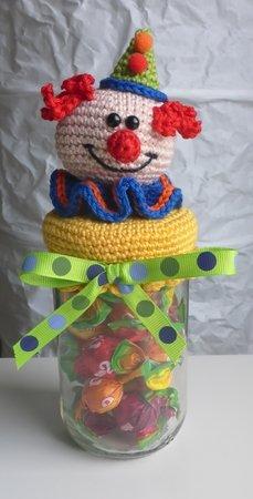 Kamelleglas Clown
