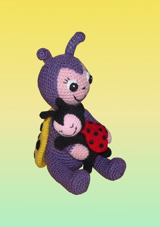 Crochet Pattern Josie the Ladybug
