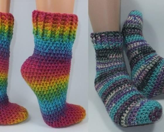 Socken Häkeln Auch Für Anfänger Machbar