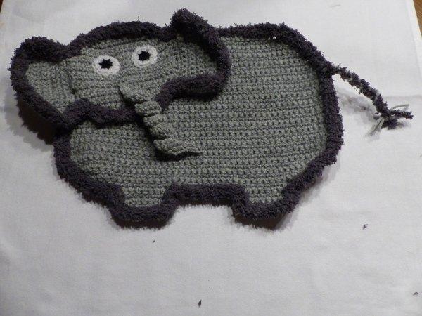 h kelanleitung elefant schnuffeltuch elefant schmusetuch elefant. Black Bedroom Furniture Sets. Home Design Ideas