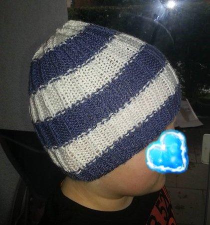 jungen mütze stricken