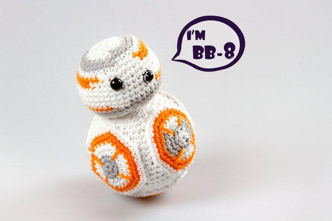 Häkelanleitung Amigurumi Bb 8 Star Wars Robot Droid E Book