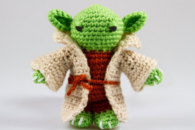 Amigurumi Forum Net : Yoda pattern amigurumi