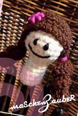 Gratis Fingerpuppe Häkeln Mini Püppchen Deko