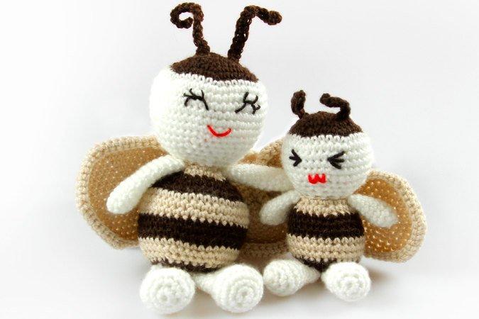 Häkelanleitung Amigurumi Puppe Bienchen Tiere Häkeln