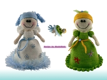 Changeable Angel -- crochet pattern by Haekelkeks -- english version