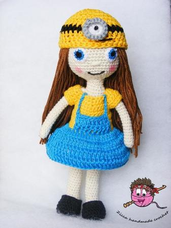 Minion doll- Amigurumi