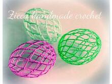 Crochet easter egg