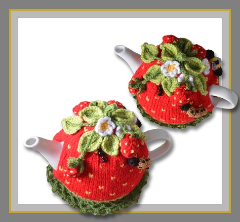 Strawberry Field Tea Cosy