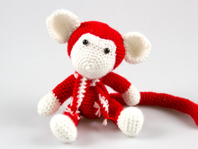 Crochet Pattern Amigurumi Monkey
