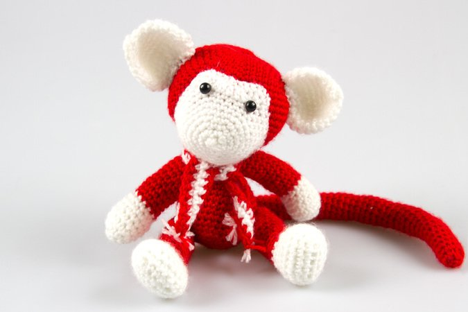 Amigurumi Monkey Patterns : Monkey amigurumi toy pattern crochet monkey pattern diy pdf monkey