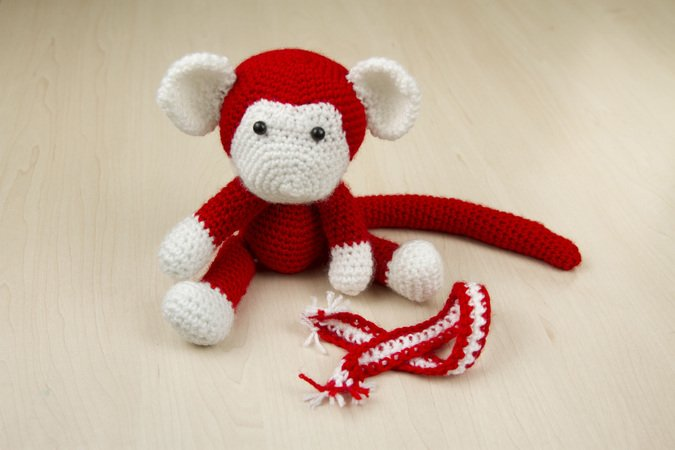 Amigurumi Monkey Patterns : Sock monkey amigurumi free pattern craft passion u page of