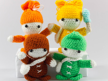 Pattern Crochet Dolls, toys for kids