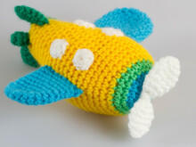 Amigurumi Doll Airplane Crochet Pattern Stuffed Toy
