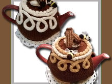 Chocolate Cake Tea Cosy