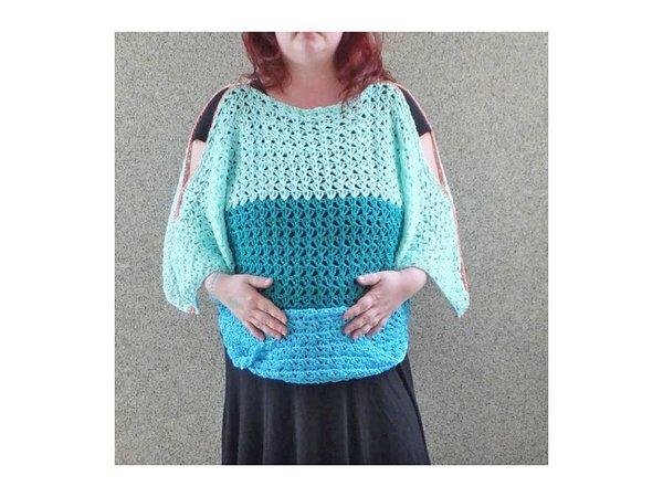 Pullover In 2 Varianten Zum Häkeln Für Kinder Und Damen
