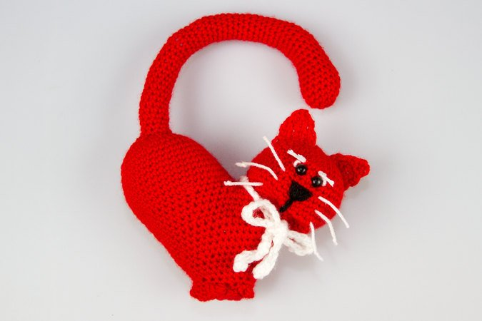 Easy Crochet Cat Patterns - Free Amigurumi Patterns • DIY & Crafts | 450x675