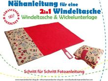 2in1 Windeltasche/Wickelunterlage