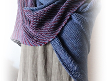 Blogs and Stripes, knittingpattern, shawl