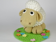 Sheep Wolli on Meadow Crochet Pattern