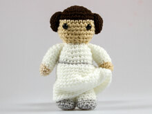 Amigurumi Doll Princess Leia Crochet Pattern Toy Spielzeug