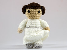 Crochet Pattern Princess Leia P032