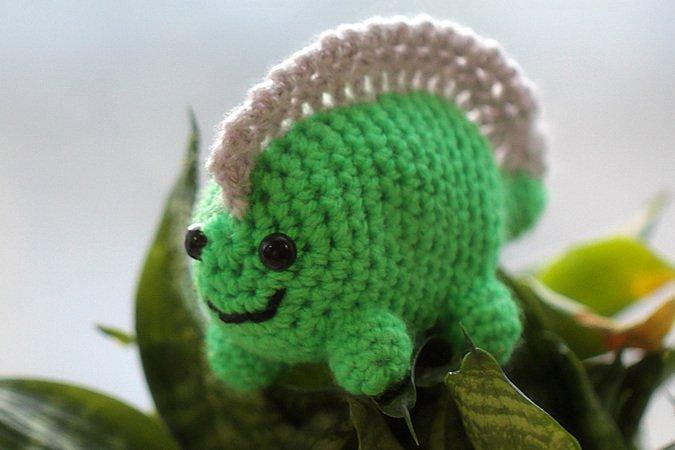 Amigurumi Doll Dinosaur Crochet Pattern Diy