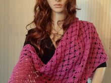 "Shawl ""Mina"" - rectangle -"