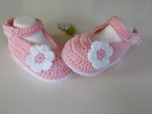 Crochet Baby Ballerinas / Shoes /Slippers / Booties