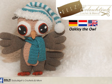 Oakley the Owl - English