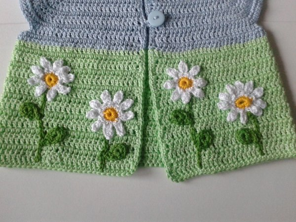 Crochet Tutorial Sweater Vest