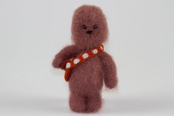 Amigurumi Puppe Chewbacca Star Wars Häkeln Häkelanleitung