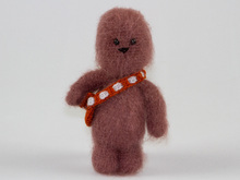 Amigurumi Doll  Chewbacca Star Wars Crochet Pattern Pattern