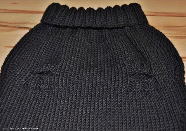 pullover f r den hund stricken diy pulli. Black Bedroom Furniture Sets. Home Design Ideas