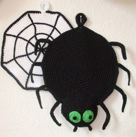 Anleitung Zum Häkeln Für 2 Richtige Hingucker Spinne Und