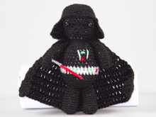 Amigurumi Doll Darth Vader Pattern Star Wars Crochet Pattern DIY