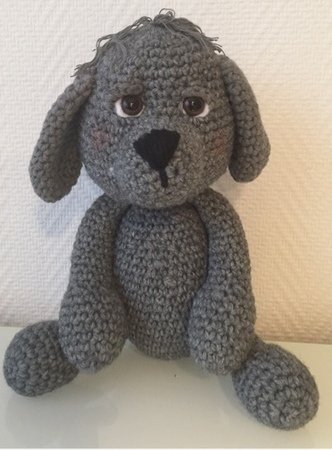 Crochet Pattern Dog Benny