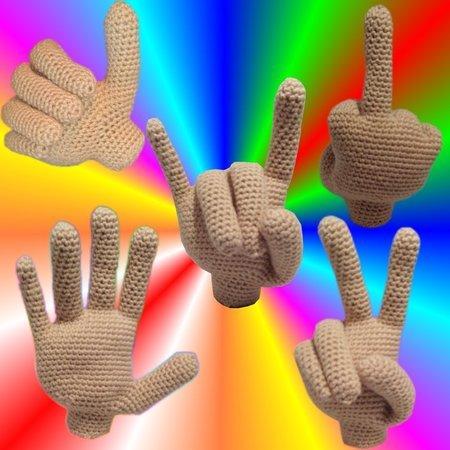 Hand Häkeln Lebensgroßes Händchen Häkeln