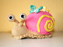 Snail - Doorstop - Stuffed Toy - Crochet Pattern