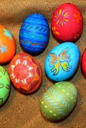 Gekochte Eier Bemalen : ostereier anmalen sch n bunt tolle muster ~ Watch28wear.com Haus und Dekorationen