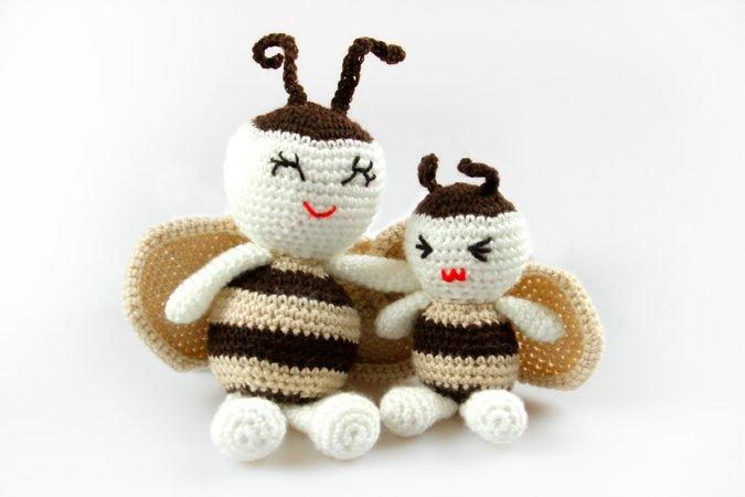 Amigurumi Dolls Panda Bear Bunny Frog Pig Crochet Pattern DIY   450x675