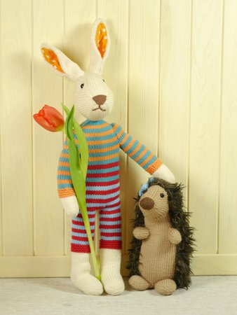 Nice Price Bundle Hare and Hedgehog knitting pattern