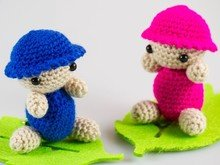 Amigrumi Crochet Dolls Pdf-Instruction