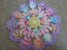 Candied Eggs Doily PDF