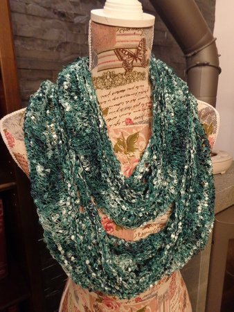 Knitting Pattern for Loop Lace | Loop Spring#awaking