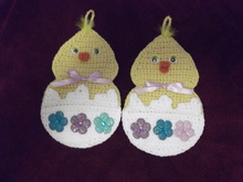 Hatching Chick Potholders PDF