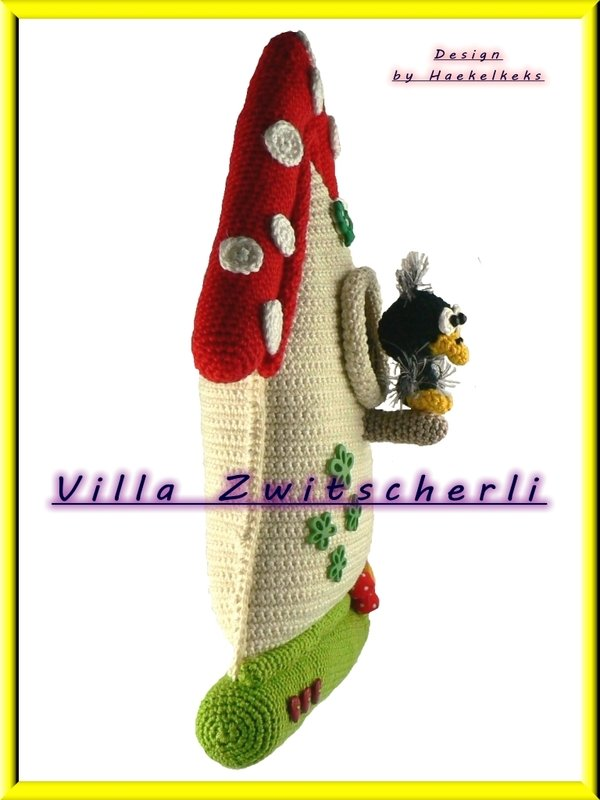 ... Villa Zwitscherli -- crochet pattern by Haekelkeks -- english version