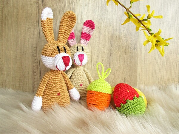 Bunny Gang - crochet pattern