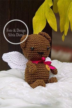 Gratis Bär Häkeln Flügel Engelbär Süß